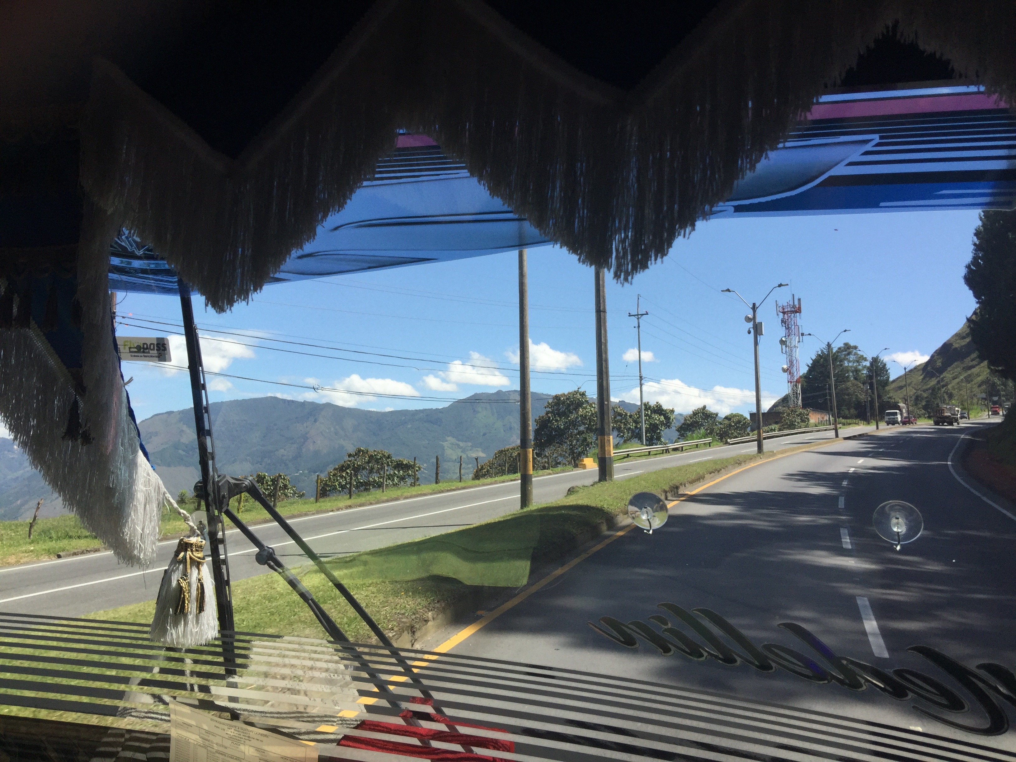 On the way to guatapé
